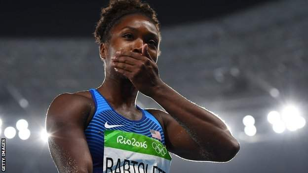 , Tianna Bartoletta: The 'big-ass step backwards' that won Olympic gold, Top Breaking News