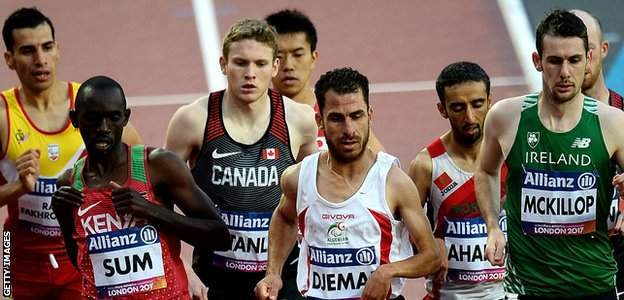 McKillop's 1500m win in London was his ninth World title success