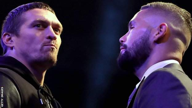 Usyk and Bellew