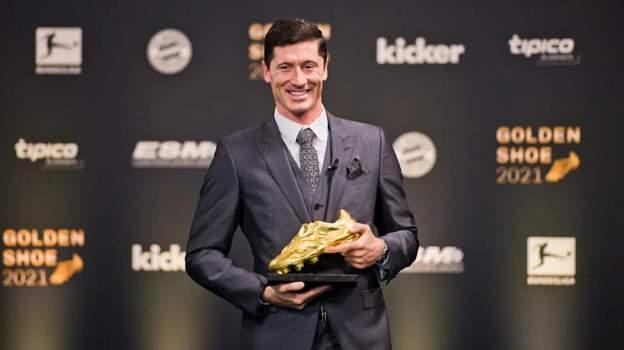 Bayern Munich: Robert Lewandowski wins European Golden Shoe