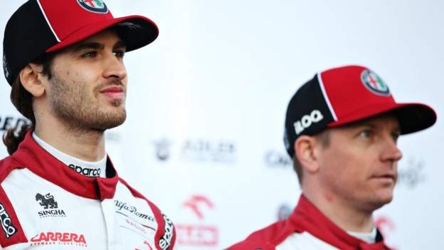 Raikkonen Giovinazzi to stay at Alfa