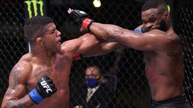 Burns stuns Woodley at UFC Fight Night thumbnail