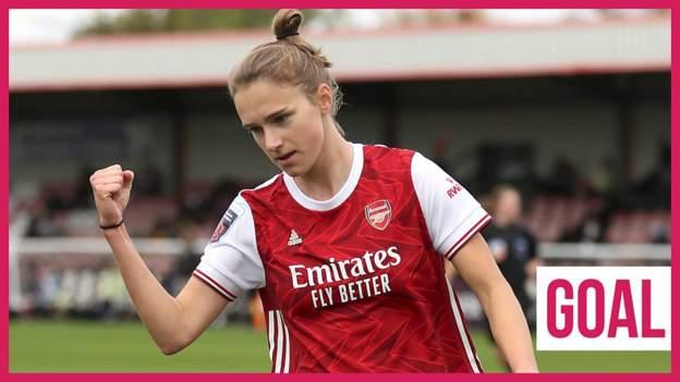 Arsenal's Vivianne Miedema scores 50th Women's Super League goal