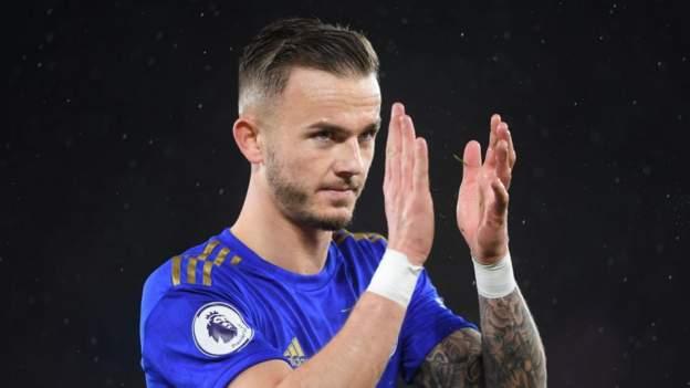 James Maddison: Gelandang Leicester 'lapar' untuk memilih Inggris thumbnail
