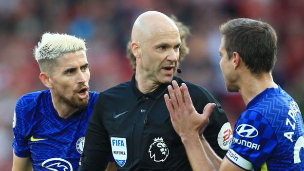 Chelsea charged by FA with failing to control players against Liverpool