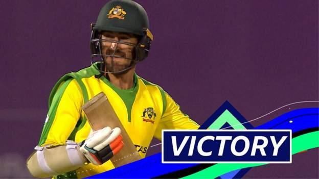 England v Australia: Mitchell Starc hits Adil Rashid for four to clinch ODI series victory