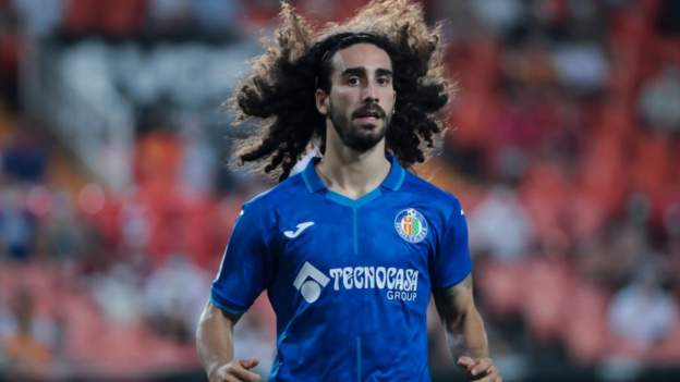 Brighton: Spain defender Marc Cucurella joins club from Getafe