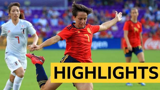 SheBelieves Cup highlights: Spain 3-1 Japan