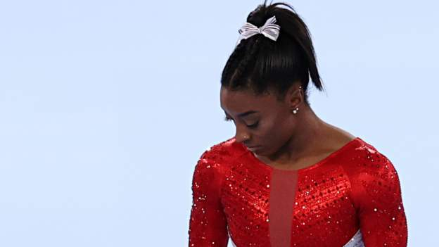Tokyo Olympics: Simone Biles pulls out of women's team final