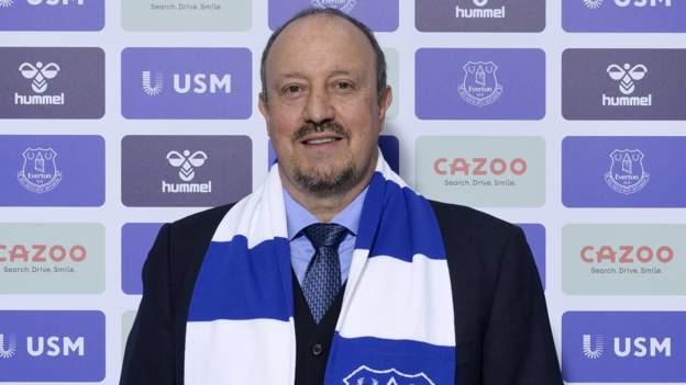 Everton appoint Rafael Benitez as manager