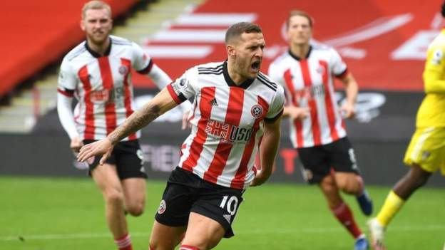 Sheffield United 1-1 Fulham: Billy Sharp rescues point with penalty