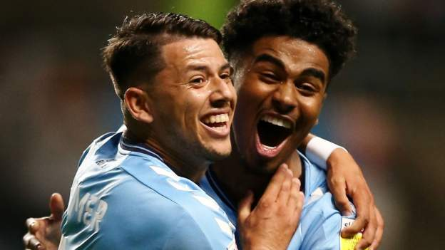Coventry City 3-0 Peterborough United: Viktor Gyokeres double sends Sky Blues second in Championship