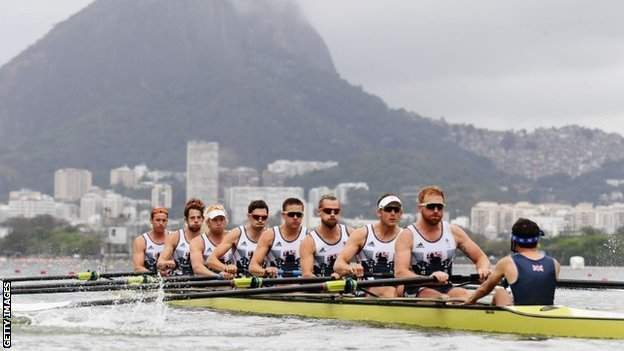 Ransley won gold for Team GB in the men's eight in Rio 2016