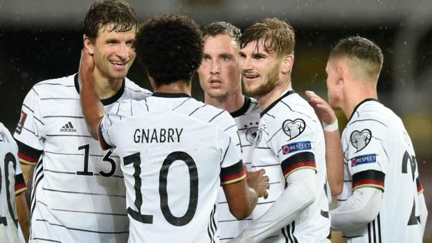 Germany first team to reach World Cup after beating North Macedonia