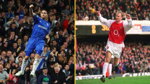 Chelsea's Frank Lampard and Arsenal's Dennis Bergkamp latest Hall of Fame  inductees - BBC Sport