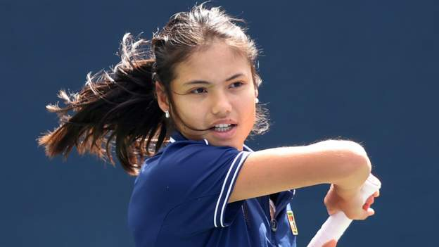 US Open: 'Exceptional talent' Emma Raducanu living 'every 18-year-old's dream'