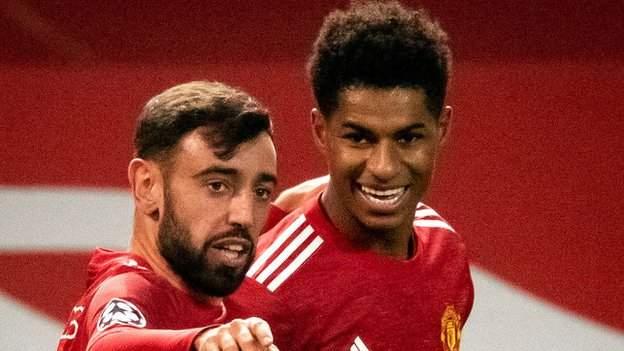 Man Utd 4-1 Istanbul Basaksehir: Bruno Fernandes scores twice in win - bbc