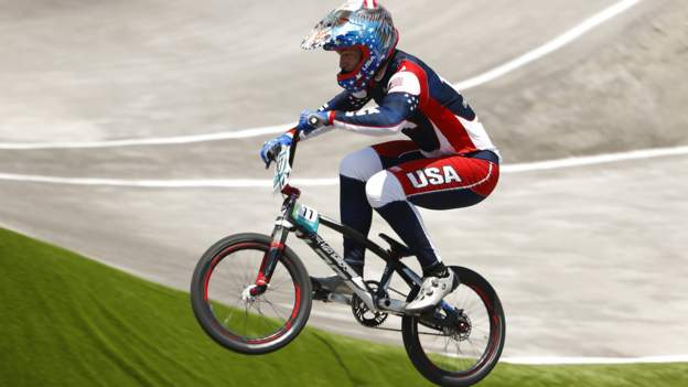 Tokyo Olympics: BMX rider Connor Fields 'doing well' after brain bleed in crash
