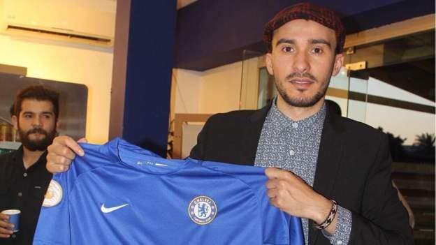 Chelsea's Christian Pulisic praises bravery of Libyan fan