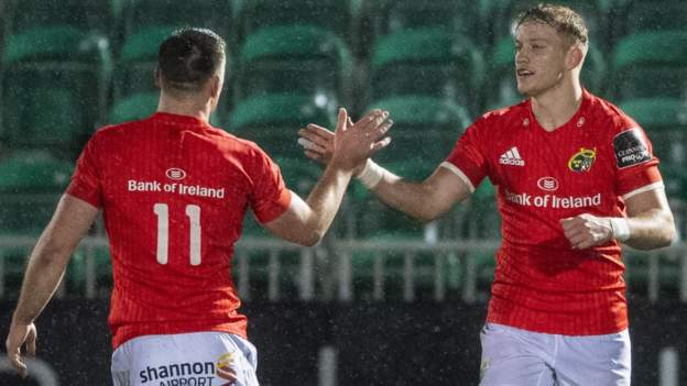 Glasgow Warriors 13-27 Munster: Conference B leaders make it six wins from six