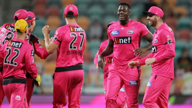 Big Bash League 2020-21: Sydney Sixers bowl Melbourne Renegades out for 60 in record BBL win