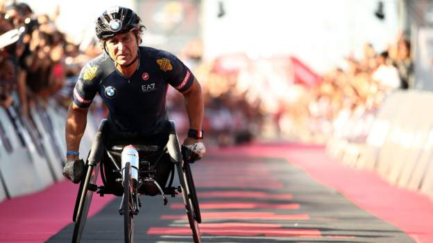 Alex Zanardi: Ex-F1 driver has second operation after hand cycle accident thumbnail