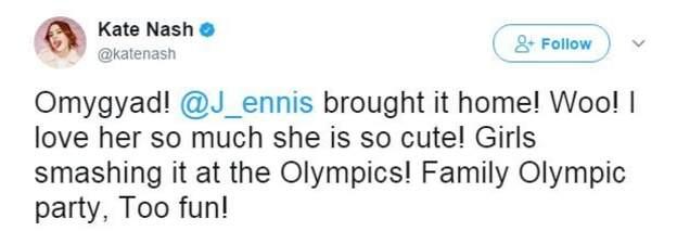 Kate Nash tweet