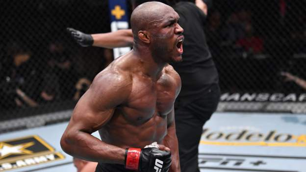 UFC 258: Kamaru Usman beats Gilbert Burns to retain welterweight title