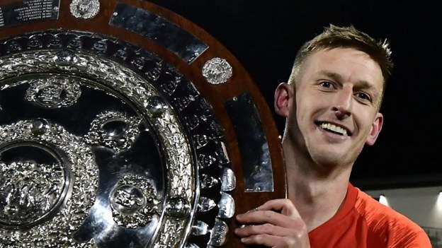 Hopefully that's the start of many' - Larne hero Hughes - BBC Sport