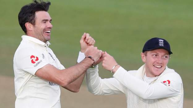 England v Pakistan: James Anderson is the GOAT - Dom Bess - BBC Sport