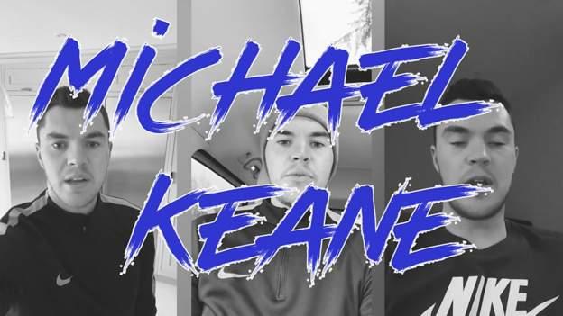 Diary of a Premier League footballer: Michael Keane on life in lockdown - bbc