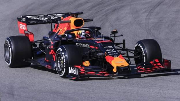 Max Verstappen in the Red Bull