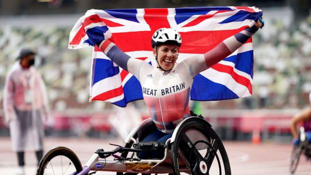 Tokyo Paralympics: Hannah Cockroft wins seventh gold, Charlotte Henshaw and Laura Sugar triumph
