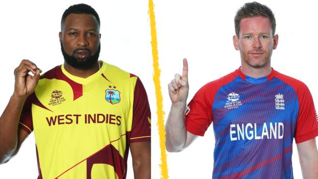 T20 World Cup: England face West Indies in rematch of 2016 final
