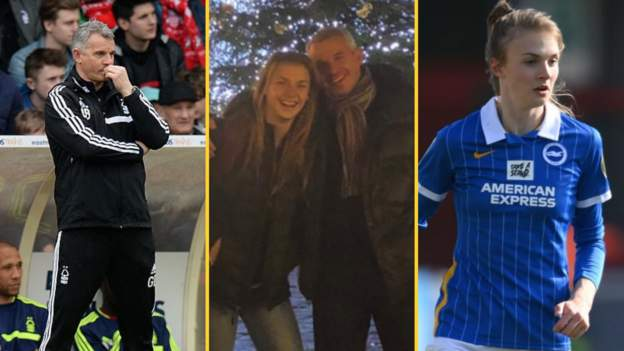 Ellie and Gary Brazil: The footballing father and daughter - bbc
