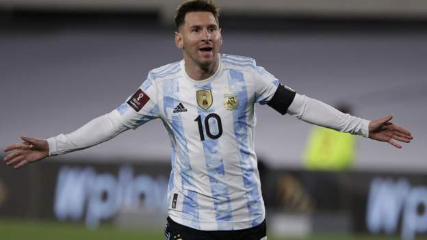 Lionel Messi breaks Pele's international goal record with hat-trick