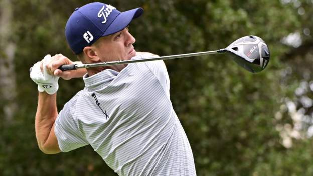 Zozo Championship: Justin Thomas takes one-shot lead
