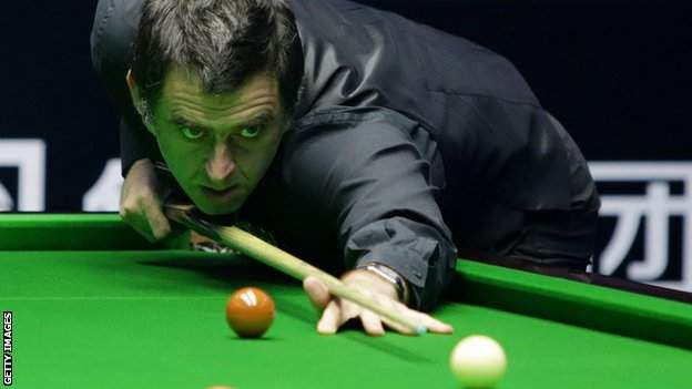 Five-time world champion Ronnie O'Sullivan