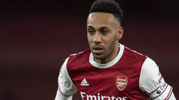 Pierre-Emerick Aubameyang: Arsenal captain absent because his mother is in ill health - bbc