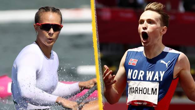 Tokyo Olympics: Canoeist Lisa Carrington wins two golds, Warholm smashes record, Biles returns