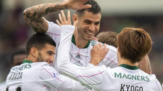 FK Jablonec 2-4 Celtic: First win for new manager Postecoglou