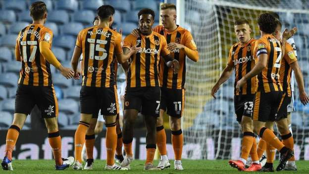 Leeds United 1-1 Hull City: Hull book third-round place with 9-8 shootout win thumbnail
