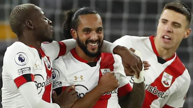 Walcott scores first goal since return as Saints draw at Wolves