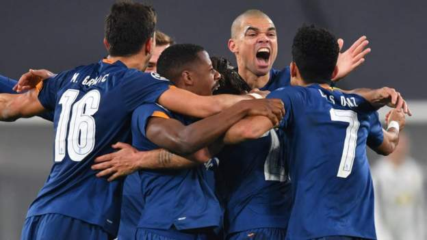 Juventus 3-2 Porto (4-4 agg): Operasi tambahan Sergio Oliveira melihat strategi Porto pada gol tandang thumbnail