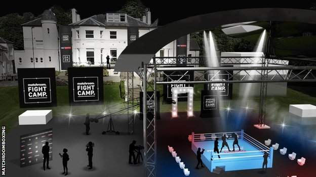 Hearn once lived at the proposed venue, which is now the head office of Matchroom Sport