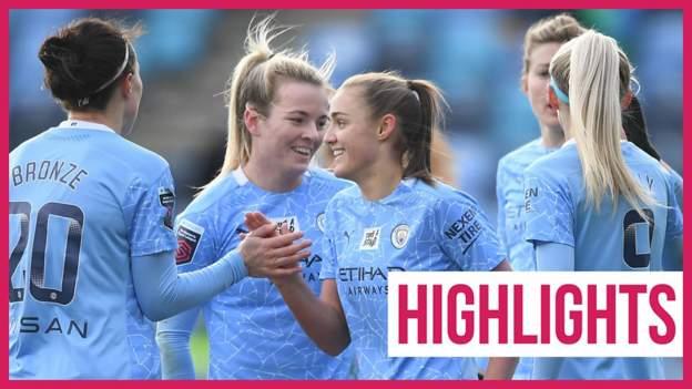 Women's Super League highlights: Manchester City thrash West Ham 4-0 thumbnail