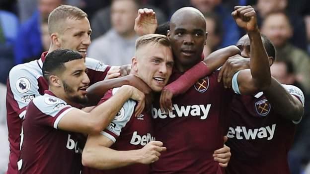 Everton 0-1 West Ham: Angelo Ogbonna heads winner