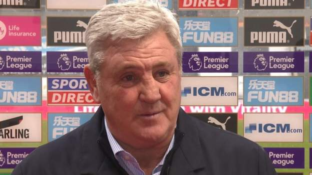 Newcastle United 1-2 Leeds: Steve Bruce says performance was