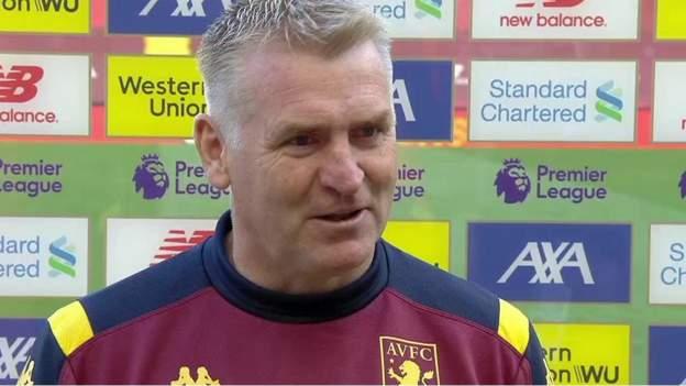 Liverpool 2-0 Aston Villa: Dean Smith says Villa confirmed 'high quality' at Anfield thumbnail