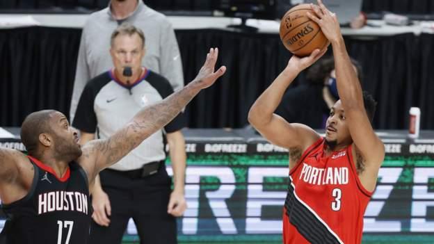 Houston Rockets, Portland Trail Blazers'a Uzatmada Kaybetti